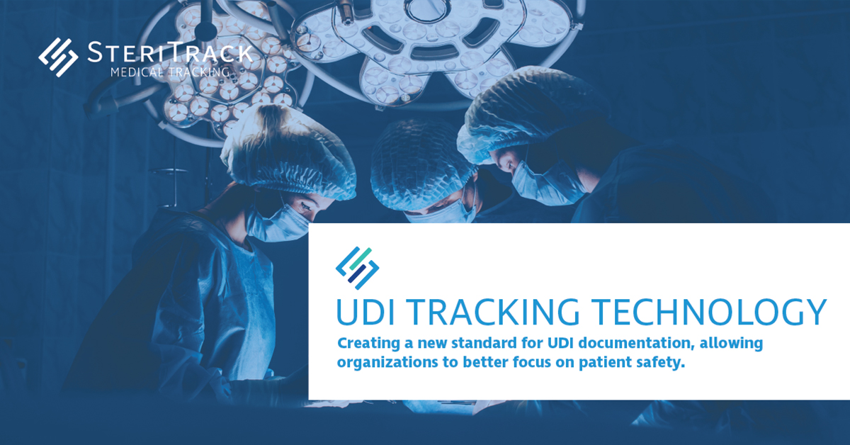 Steritrack - The world's only comprehensive UDI tracking